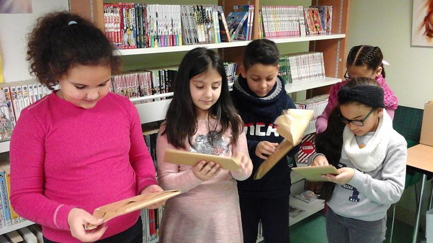 Bibliothèque Luray - Remise des prix aux gagnants du concours « Raconte-moi une histoire » - 17 mars 2018