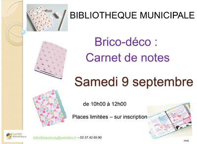 Bibliothèque Luray - Brico-déco