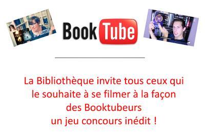 Bibliothèque Luray - Concours booktubeurs
