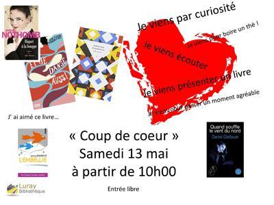 Bibliothèque Luray - Coup de cœur 13 mai 2017