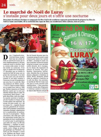 Luray - Marché de Noël - Mtaville - 30 novembre 2017