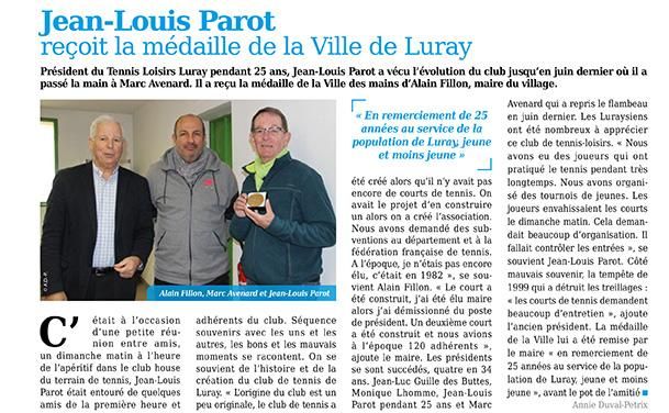 Tennis Loisir Luray - Mtaville - 30 novembre 2017