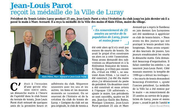 Luray - Tennis Loisir - Mtaville - 30 novembre 2017