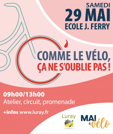 Luray - Mai à vélo - 29 mai 2021