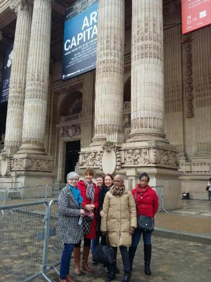 Atelier Art Pictural Luray - Visite Grand Palais 2018