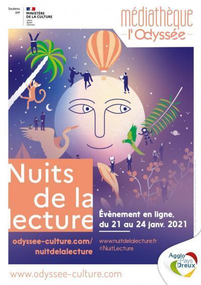 Odyssée de Dreux - Nuit de la lecture 2021