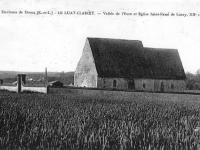 Luray - L'ancienne église Saint Rémi du XIIe siècle.