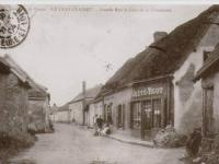 Luray - Grande Rue. Café de la Chaumière (Crété-Blot).