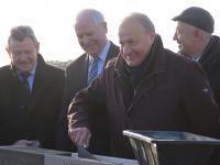 Espace multifonctions de Luray - Pose de la première pierre - M. Lemarre, Vice-Président du Conseil Départemental