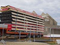 Espace multifonctions de Luray - Eléments préfabriqués de toiture
