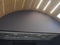 Luray - Espace Clairet - Mise en peinture de la salle, côté scène