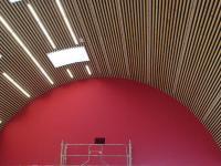Luray - Espace Clairet - Mise en peinture de la salle