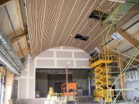 Luray - Espace Clairet - Pose du faux plafond