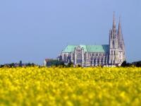 Proximité de Luray (28) : La cathédrale de Chartres
