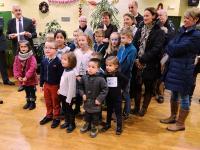Mairie de Luray (28) - Voeux 2017 : Prix de la citoyenneté - Chant de La Marseillaise